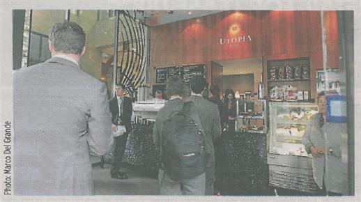 Post image for Utopia Coffee, Circular Quay