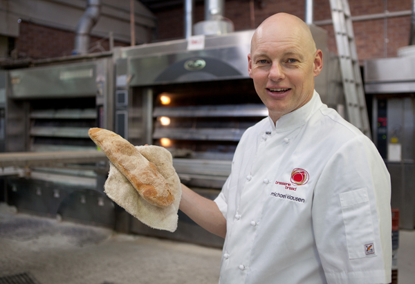 Michael with our Italian Ciabatta