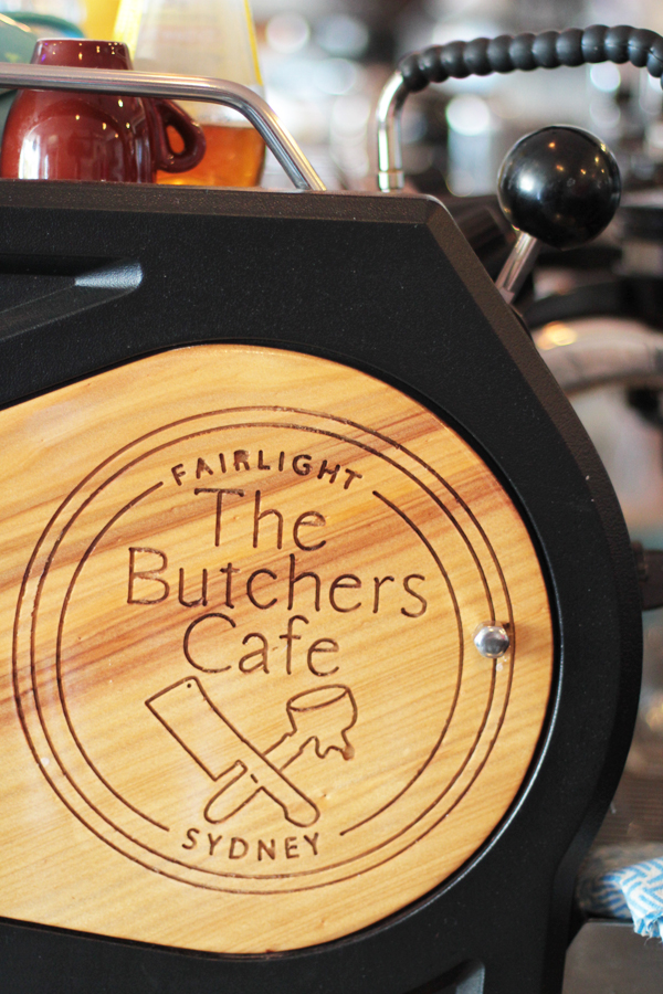 butchers cafe coffee machine