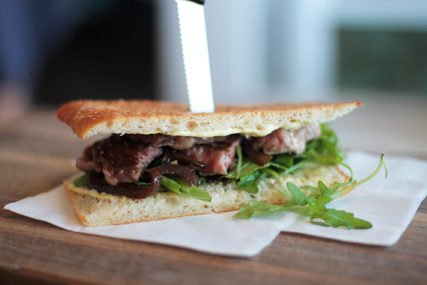 butchers cafe steak sandwich