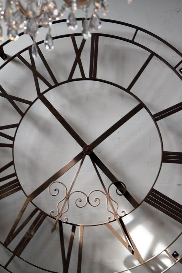 vintage goose clock