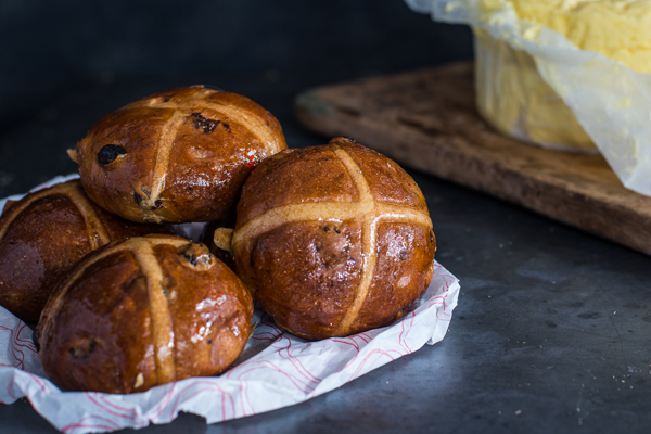 Post image for Brasserie Bread Hot Cross Buns at Pepe Saya Last Supper Pop Up