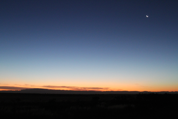 flinders ranges sunset