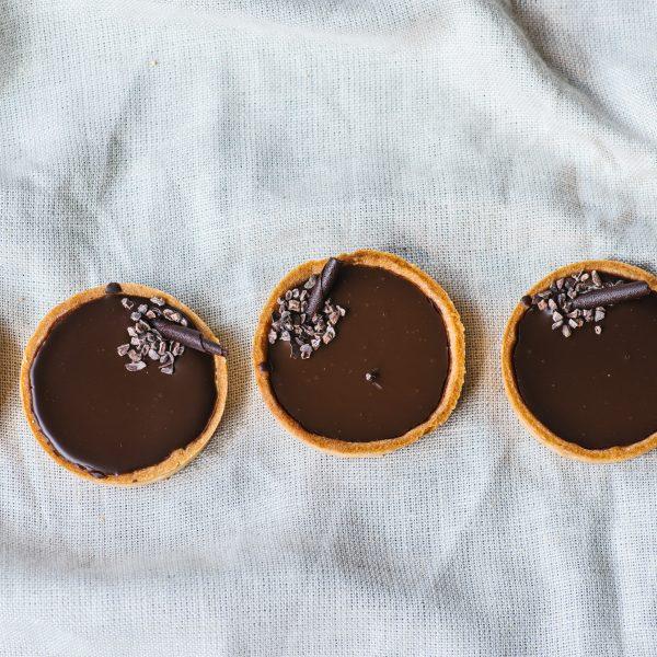 Post image for Chocolate Caramel Tart